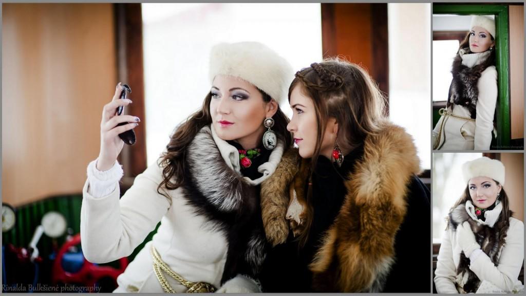 Rusiško stiliaus fotosesija