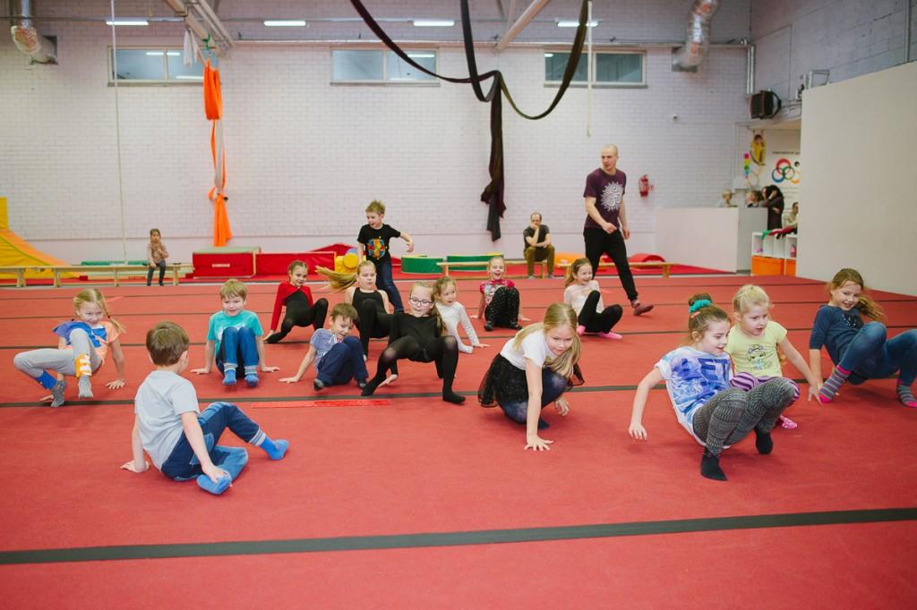 Sportinis gimtadienis - gimnastika