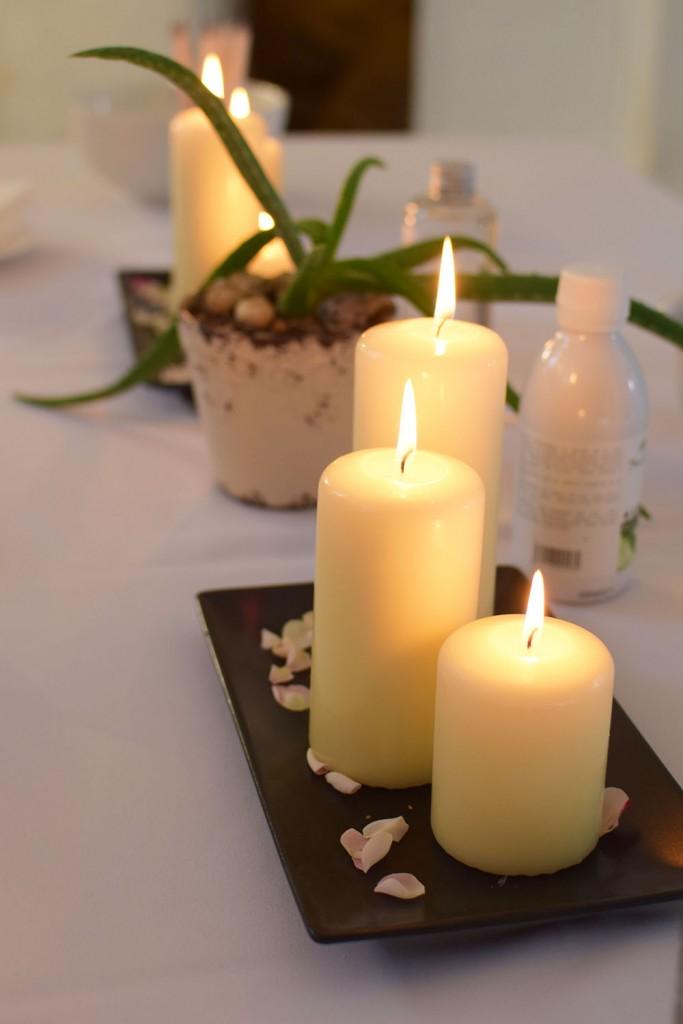 Dekoras žvakės