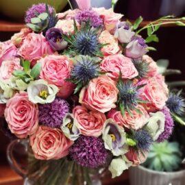 Pastelinių gėlių