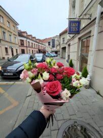 Gėlės į namus tą pačią dieną