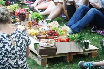Suaugusių teminiai vakarėliai, piknikas gamtoje
