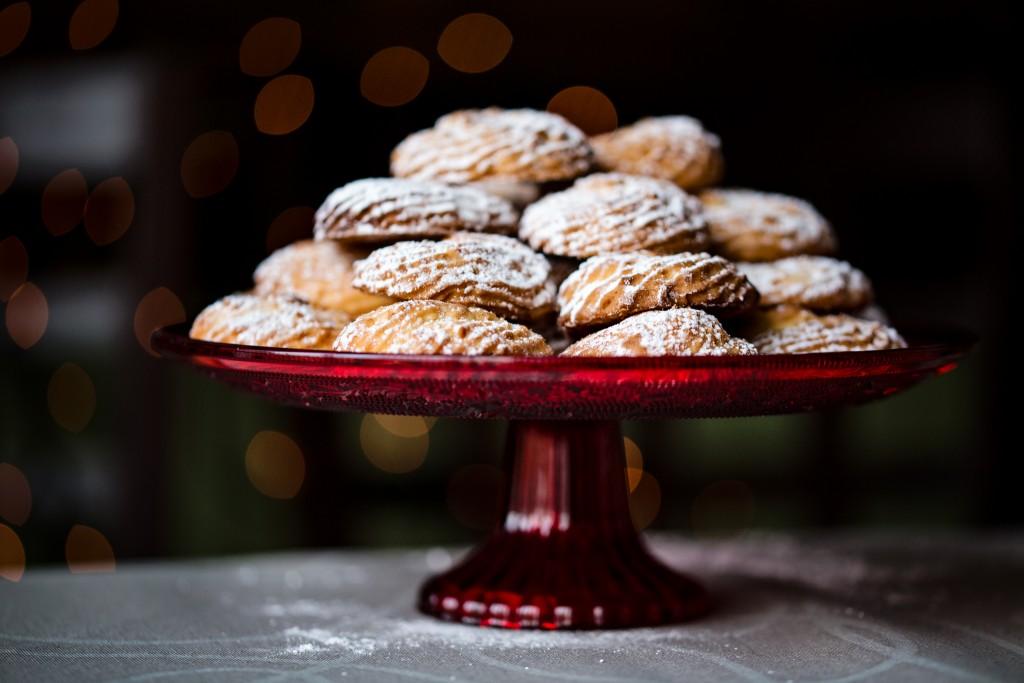 Riešutiniai sausainai - Kalėdų saldusis stalas