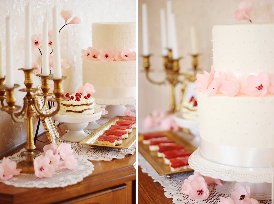 Saldus stalas ir jo dekoras