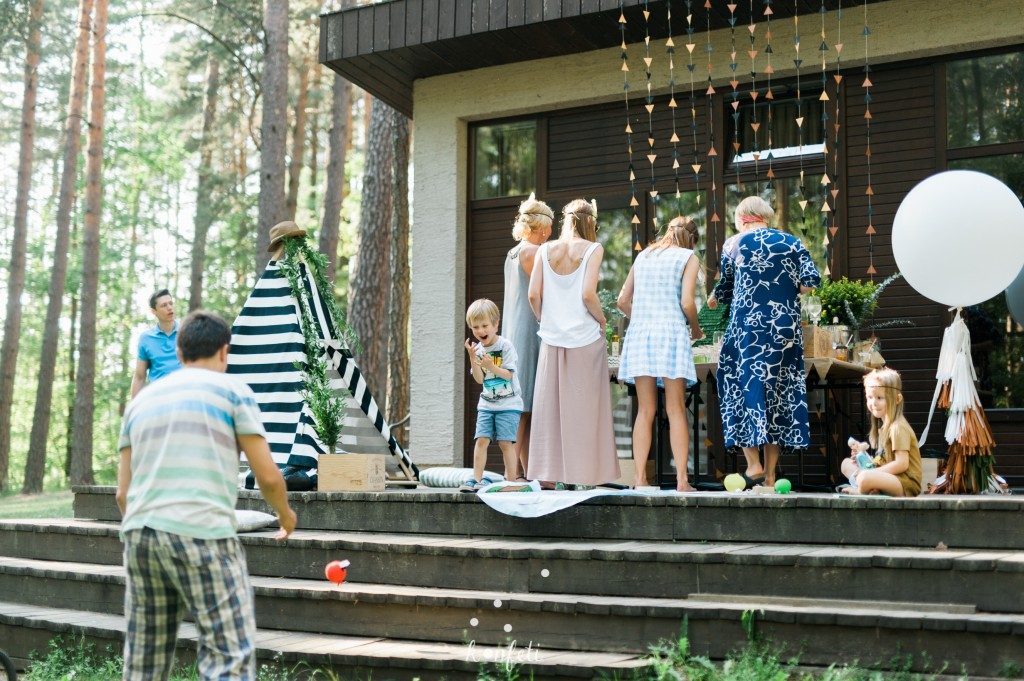 Šventės vieta, Belvilis, vaikų gimtadieniai
