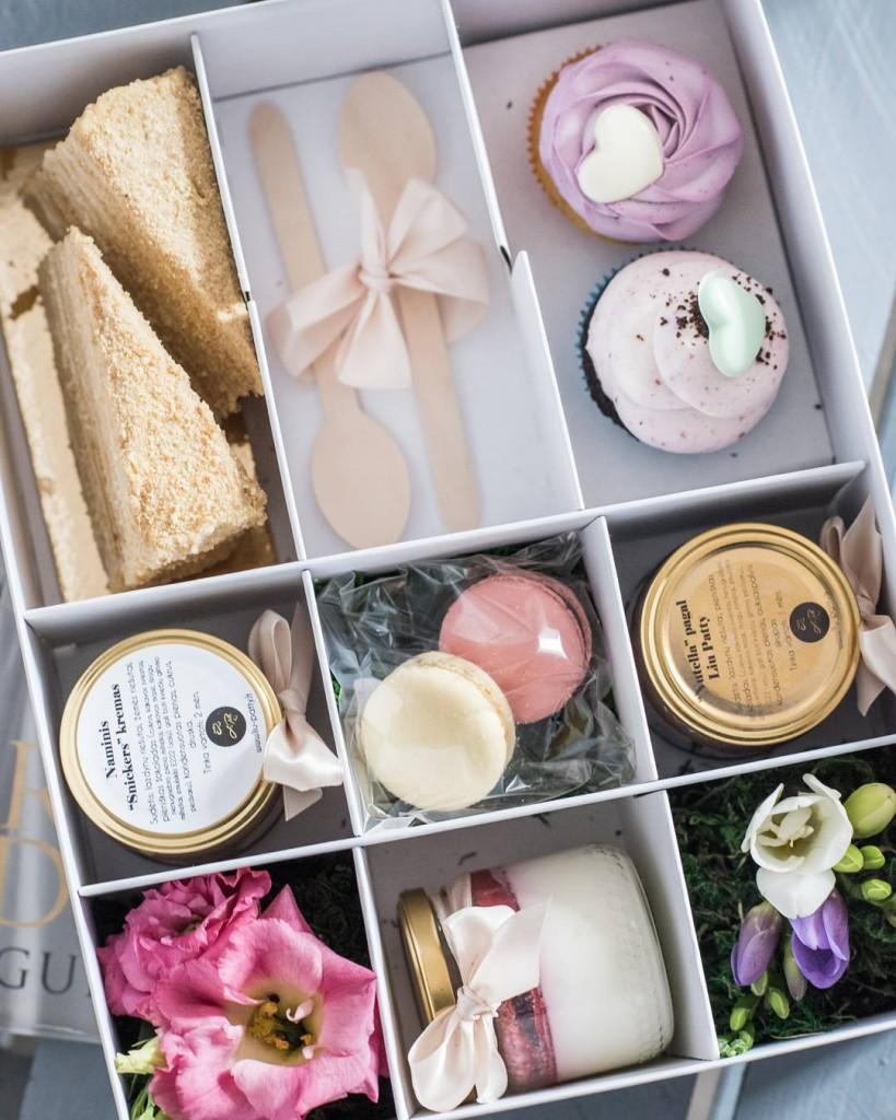 Saldumynų rinkinys - dovana merginai Valentino dienos proga