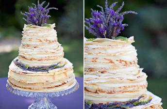 Blynų tortas - vestuvės
