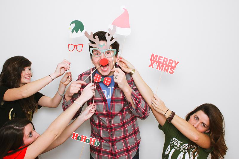 Kalėdinė fotosesija - atributika ant pagaliukų