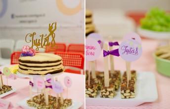 Saldaus stalo dekoras gimtadienyje