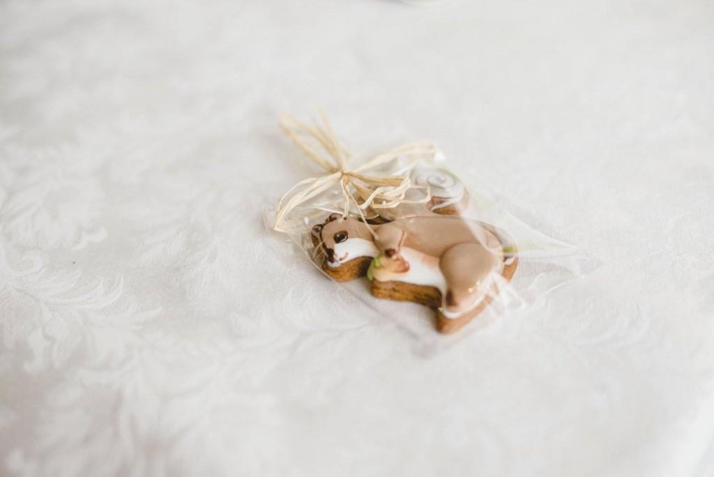 """Dovanėlės svečiams: sausainiai """"voverytė"""""""