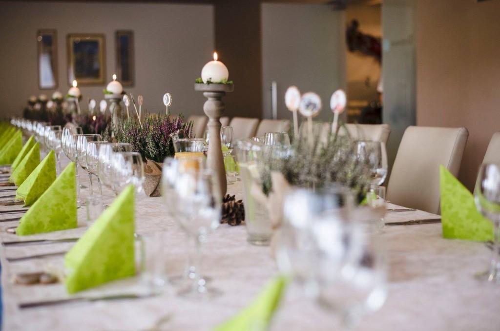 Stalo dekoras, puošimas, viržiai