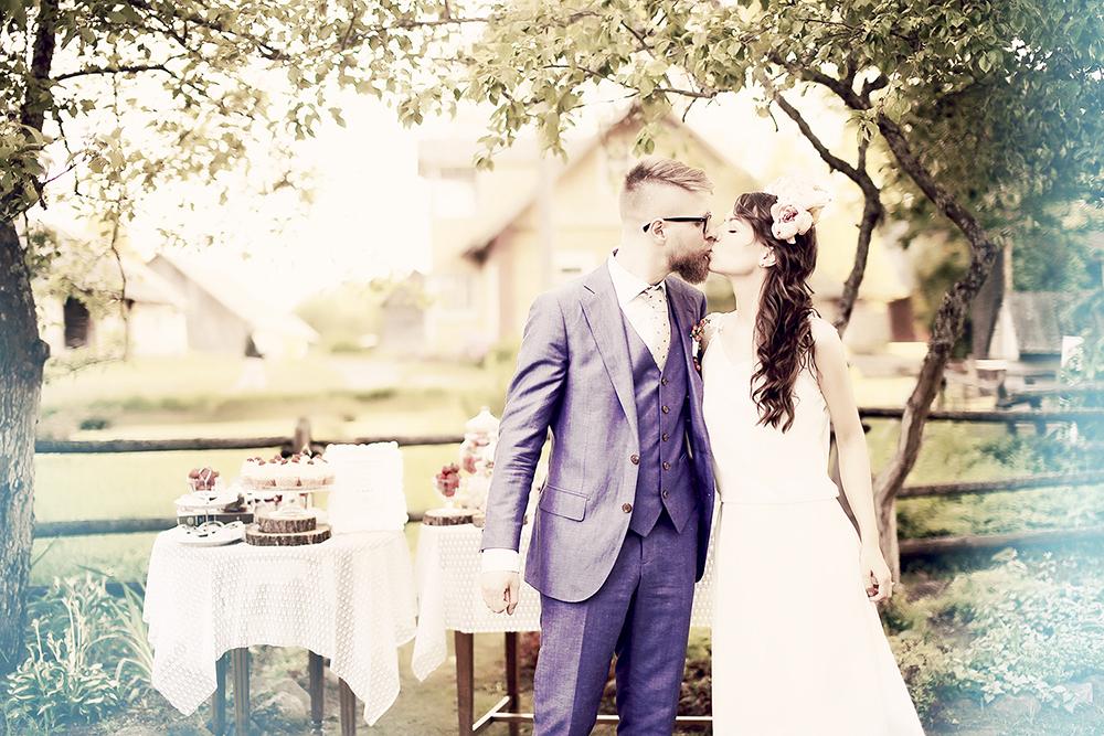 Jaunieji - rustic bohemian vestuvių stilius