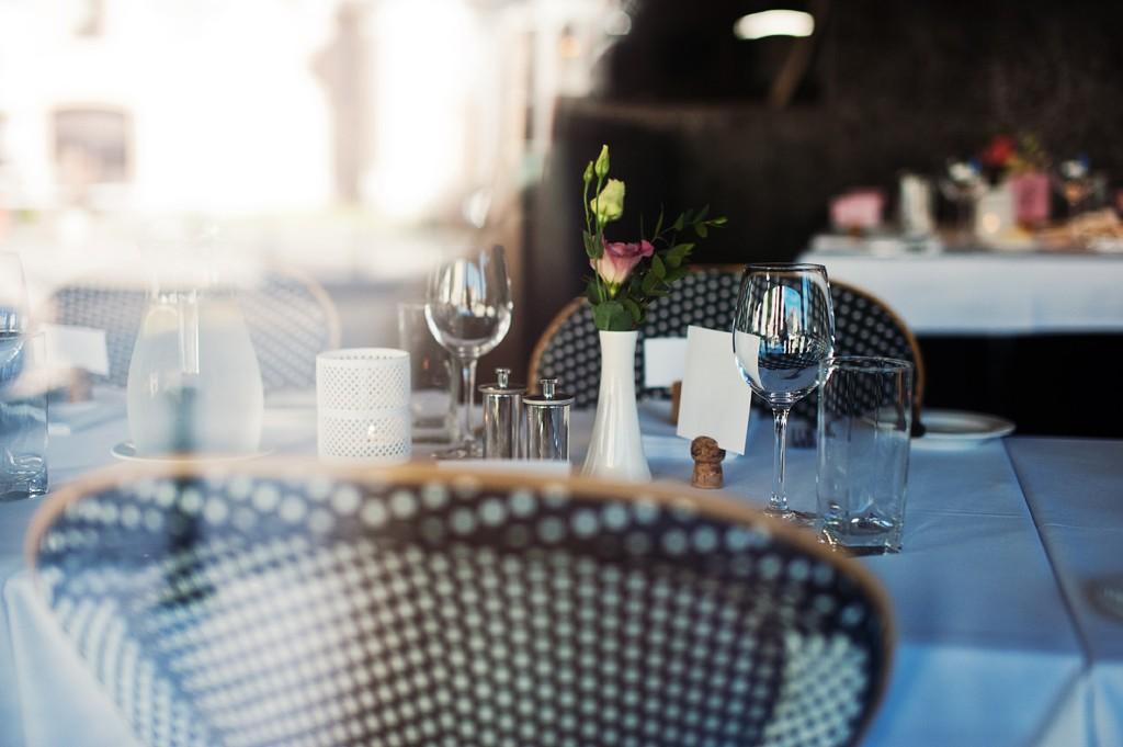 """Prancūziškos vestuvės restorane """"Brasserie de Verres en Vers"""""""