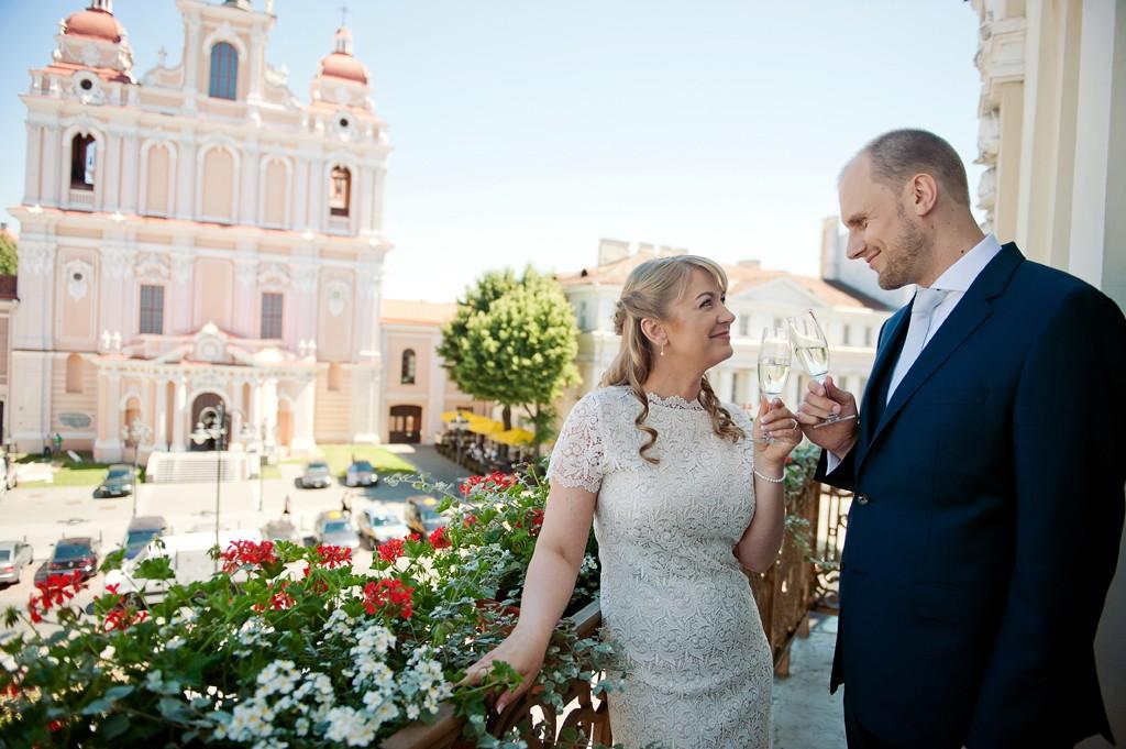 Vestuvės prie Rotušės
