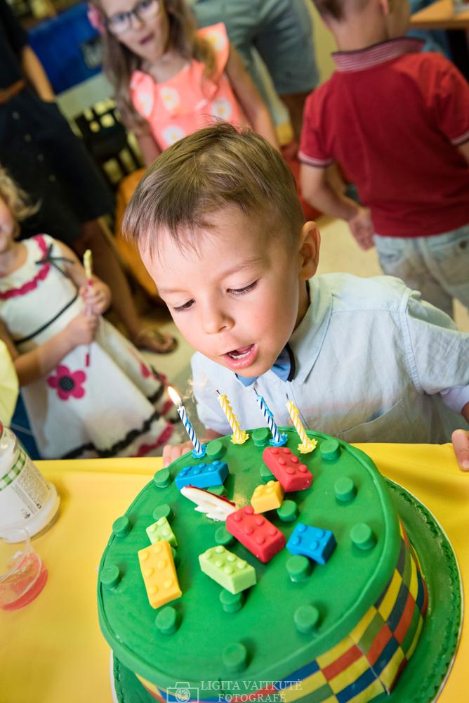 Gimtadienio tortas Lego