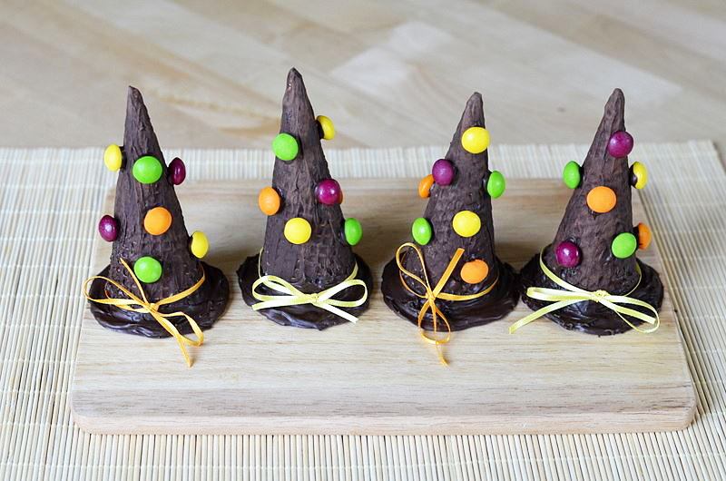 Raganų kepurės - Helovyno vaišės