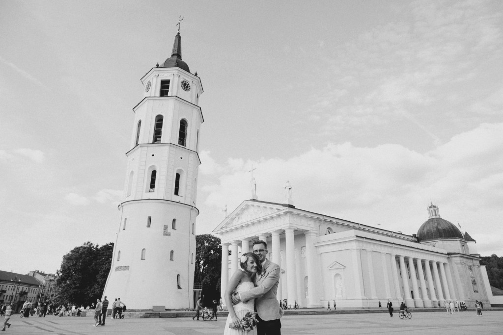Vestuvės - Vilniaus katedra