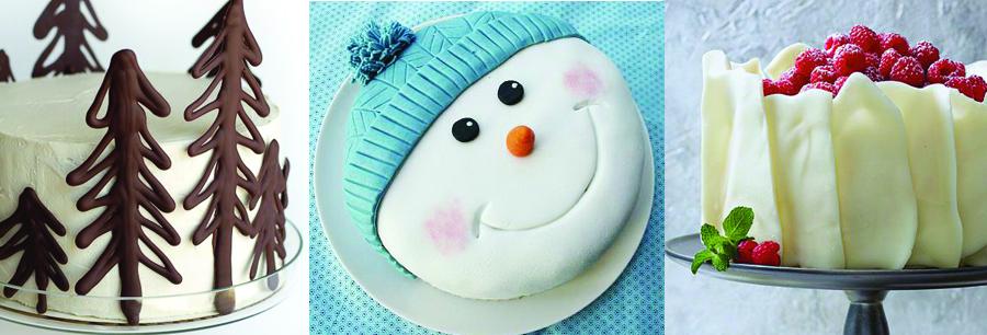 Kalėdiniai ir naujametiniai tortai