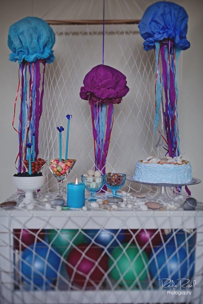 Saldaus stalo dekoras, papuošimai