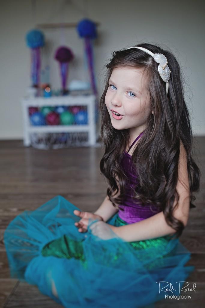Undinėlės teminis gimtadienis - mergaičių gimtadienių idėjos