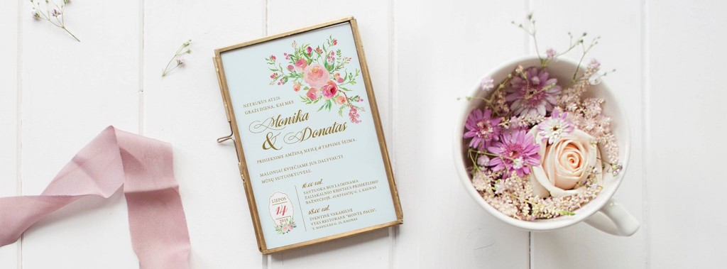 Vestuvių kvietimų idėjos, dizainas