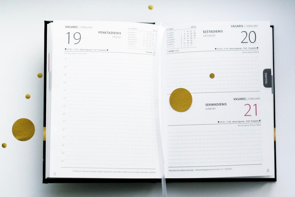 Asmeninis darbo kalendorius, darbaknygė, planuoklis