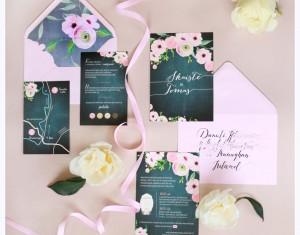 Patarimais apie vestuvinius kvietimus dalinasi Sugar Letters